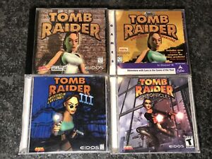 Lot-of-4-Tomb-Raider-PC-Video-Games-Chronicles-Unfinished-Business-1-3