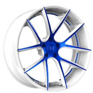 """(4) 21"""" Lexani Forged Wheels LF Sport LZ-118 Custom Paint Rims(B30)"""
