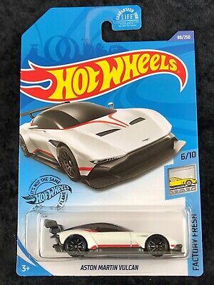 Hot Wheels 2020 HW Factory Fresh White Aston Martin Vulcan