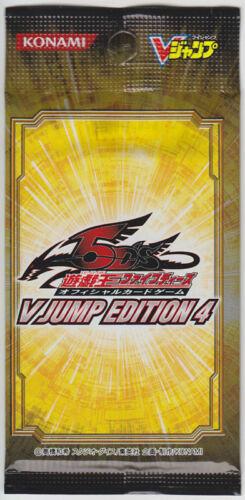 Yu-Gi-Oh V Jump Edition 4 Sealed Pack Promo