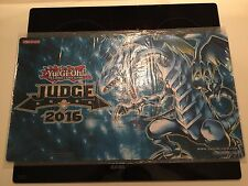 Yugioh Blue-Eyes White Dragon 2016 Judge Playmat  NEU/NEW OVP