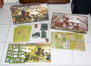 Tide Of Iron Fantasy Flight Jeux 2007 Parfait édition italienne Wwii