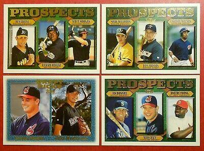 1997 Cleveland Indians Team Set Trading Cards NIB
