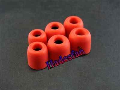 4.9 mm Earbud Memory Foam Tips Eartips Earplug For  IN-EAR Earphones S M L