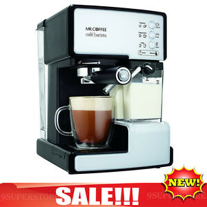 mr coffee barista espresso machine cafe maker cappuccino latte automatic frother 72179232117 ebay. Black Bedroom Furniture Sets. Home Design Ideas