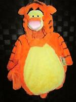 Disney Tigger The Tiger Plush Deluxe 4pc Halloween Dress Up Costume 6/12 Mo
