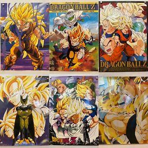 RARE-lot-6-DRAGON-BALL-Z-Posters-15-034-x-20-5-034-Goku-Saiyan-Vegeta-Gohan-Piccolo