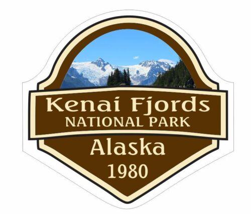 Kenai Fjords National Park Sticker Decal R1442 Alaska YOU CHOOSE SIZE