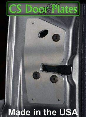 ZJ L/&R 93-98 door latch repair /& reinforcement plate pair Jeep Grand Cherokee