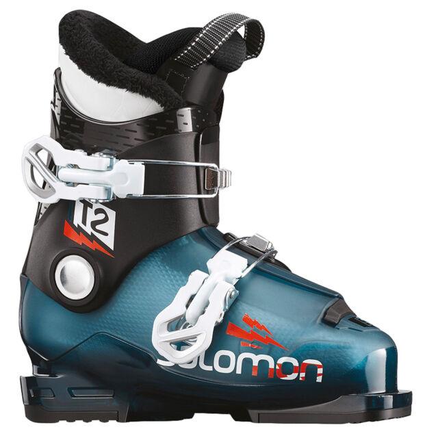 2019 Enfants Ski Bottes Chaussures Bateau Salomon T2 Rt Junior ~ Taille Mp 21,0
