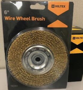 6 Quot Steel Wire Wheel Brush 1 2 Quot Arbor Bench Grinder
