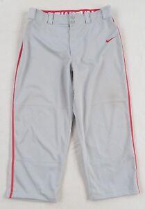 677b49a06c50 Nike Men s Polyester Dri-Fit Swingman Gray Baseball Uniform Pants ...