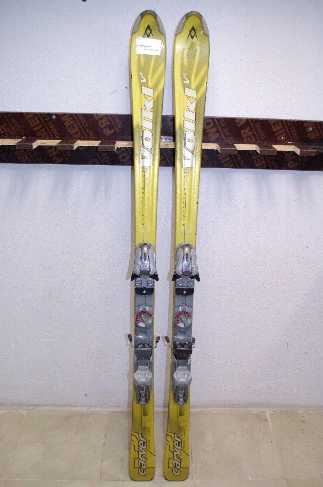 Volkl Carver V2 156 cm Ski + Marker M 10 Bindings