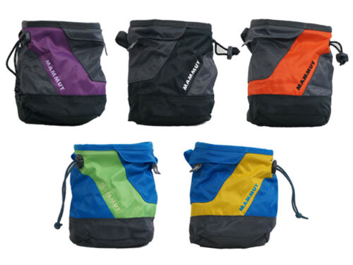 Mammut Ophir Chalk Bag [6 Colours] Drawstring Climbing Belt Tooth Brush Pocket