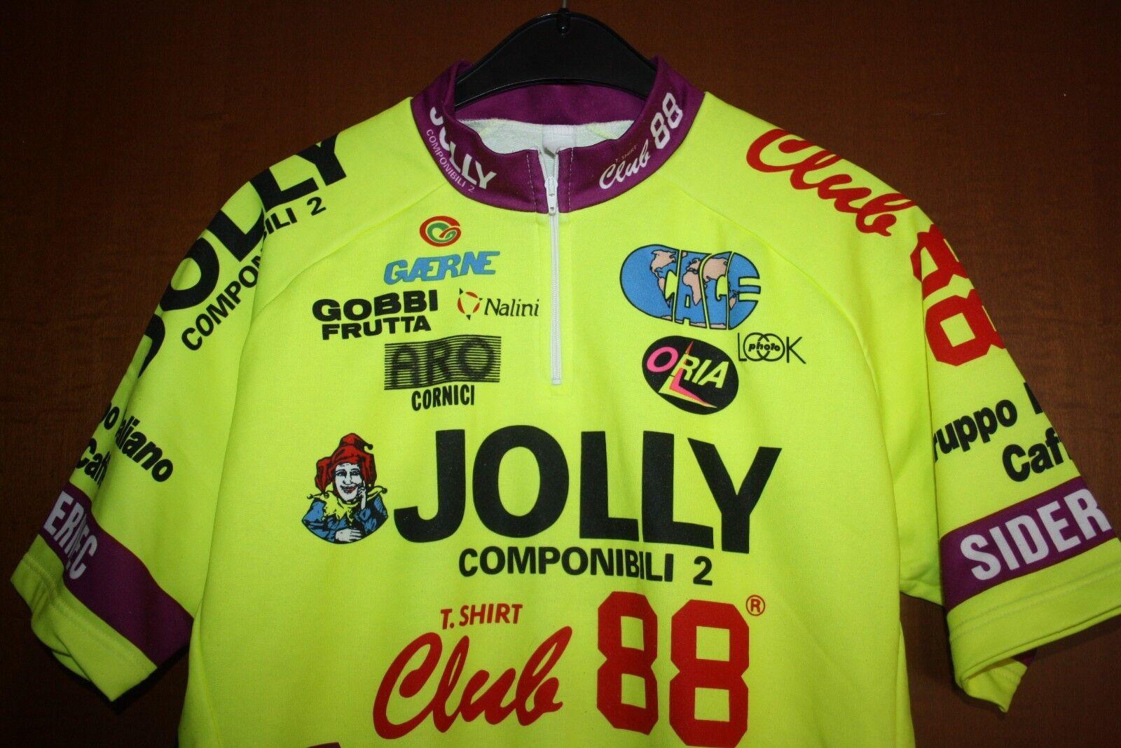 Maglia Shirt Radtrikot Shirt Maglia Maillot Ciclismo Jolly Componibili Club 88 Nalini Giro 93 dcbc11