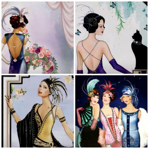 Tarjeta Toppers 8 Mi amigo Felina Art Deco Adornos elaboración de Tarjetas Toppers