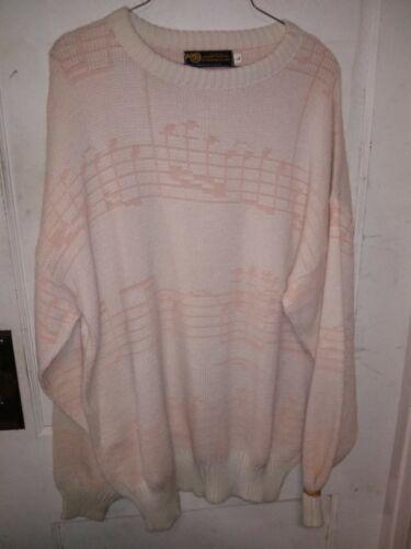 Vintage Aim Albert Elovitz Pink & White Music Note