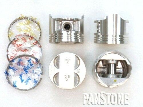 .50mm Premium Piston//OES Ring Kit 88-95 1.5L CIVIC CRX Del Sol SOHC D15B1//2//7
