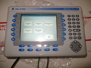 Allen-Bradley-PanelView-Plus-2711P-B7C4A2-Color-Touch-Keypad-Very-Nice-Tested