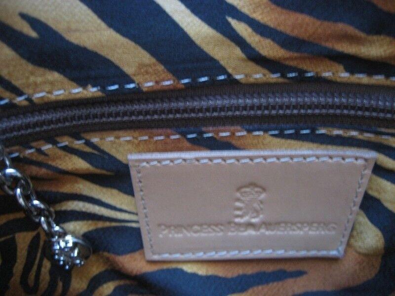 PRINCESS BEA AUERSPERG AUERSPERG AUERSPERG Damen Clutch Tasche mit Griff GIRAFFE   Grün   NEU | Großartig  d51cff