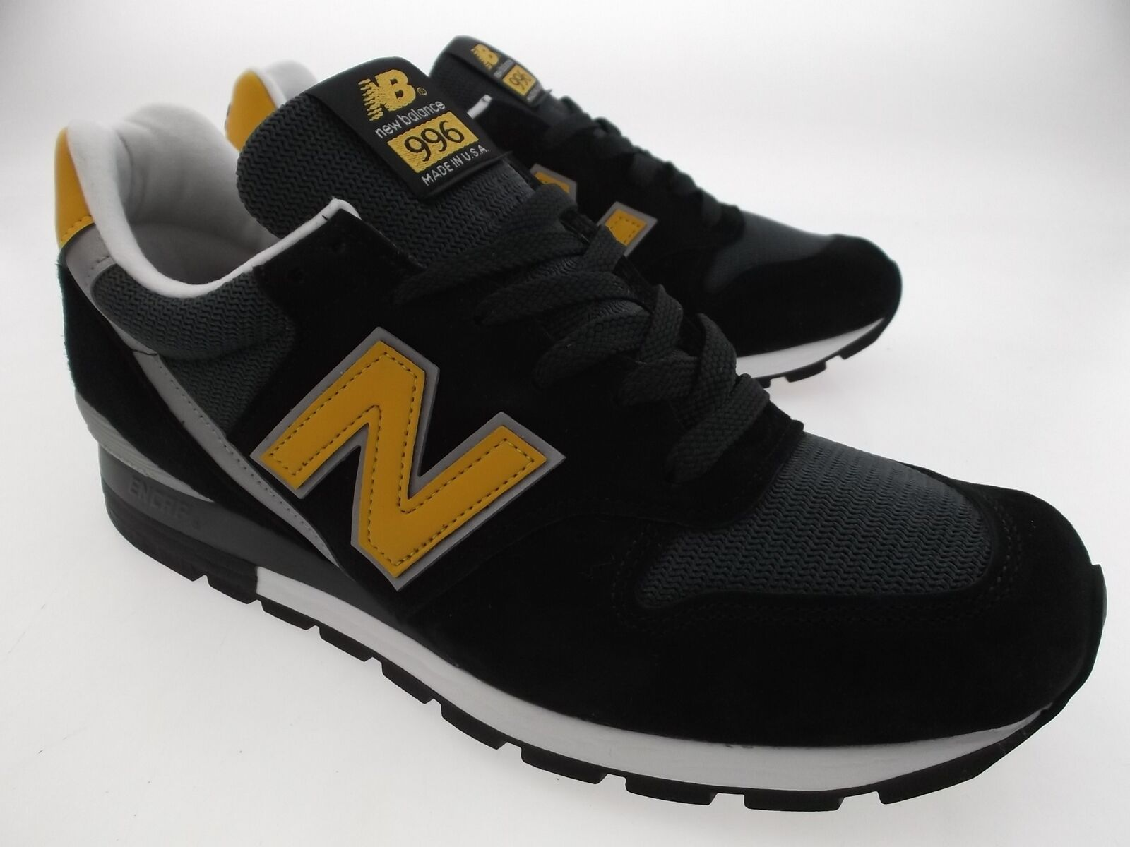 New Balance Men 996 Connoisseur Ski M996CSMI - Made In USA black yellow silver M