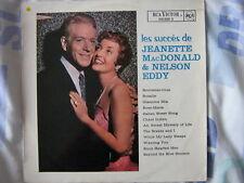 JEANETTE MAC DONALD & NELSON EDDY 33 TOURS FRANCE