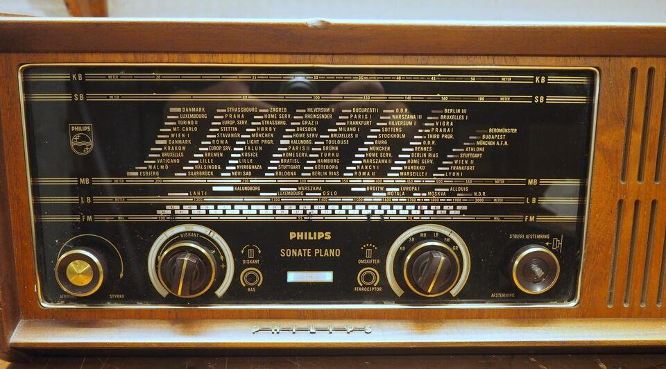 Rørradio, Philips, Sonate Plano