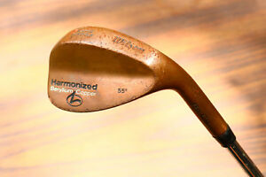 Rare-Wilson-Golf-HARMONIZED-BECU-55-SAND-WEDGE-Beryllium-Copper-Right-RH