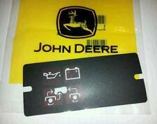 NEW JOHN DEERE  318 400 420 DASH PANEL INDICATOR