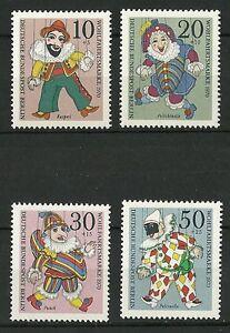 Deutsche-Bundespost-Berlin-1970-Wohlfahrt-Marionetten
