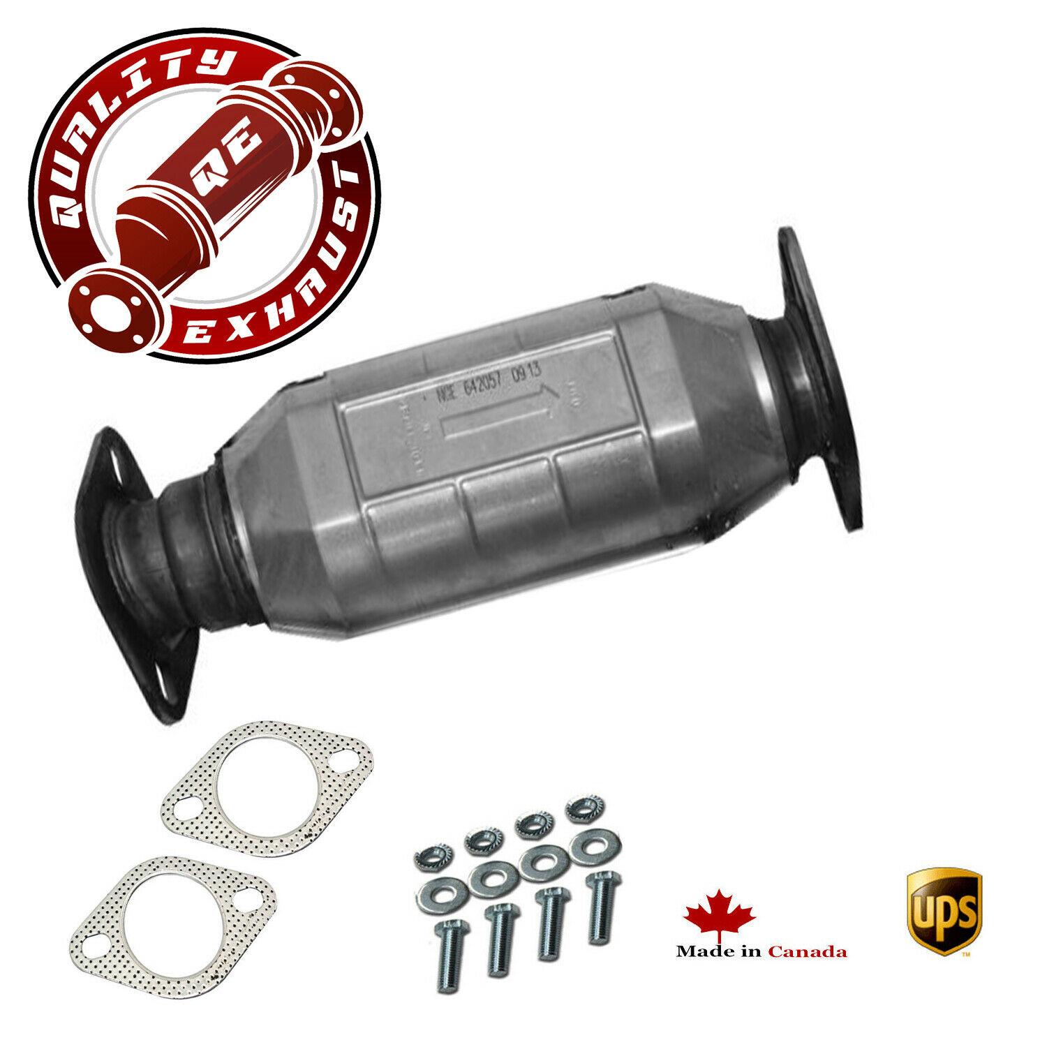 Rear Catalytic Converter Fits 2006-2010 Hyundai Accent 1.6lL Direct Fit