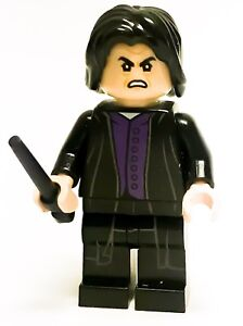 LEGO HARRY POTTER MINIFIGURE SEVERUS SNAPE WITH WAND WHOMPING WILLOW 75953