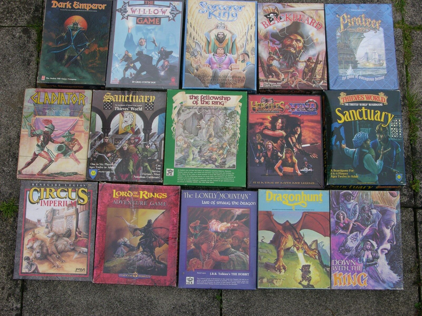 Phantasie Brettspiele, Auswahl, Multi-Listing  1