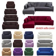 Cubre sofá de 1/2/3/4 asientos silla de estiramiento Funda Sofá Funda Protector Elástico