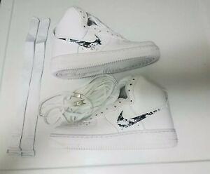 size 7 pretty cheap catch Nike Air Force 1 High '07 Shoes Men's custom design(315121-115 ...