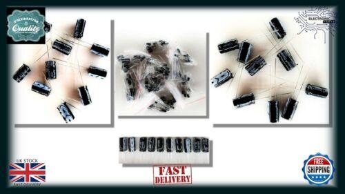 10UF 25V Condensador electrolítico electrónica 10 un 40+105 Celsius