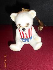 LENOX 100th Anniversary Teddy Bear & Holiday Ornament