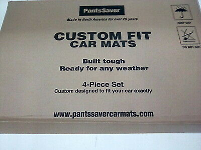Gray 0918042 PantsSaver Custom Fit Car Mat 4PC