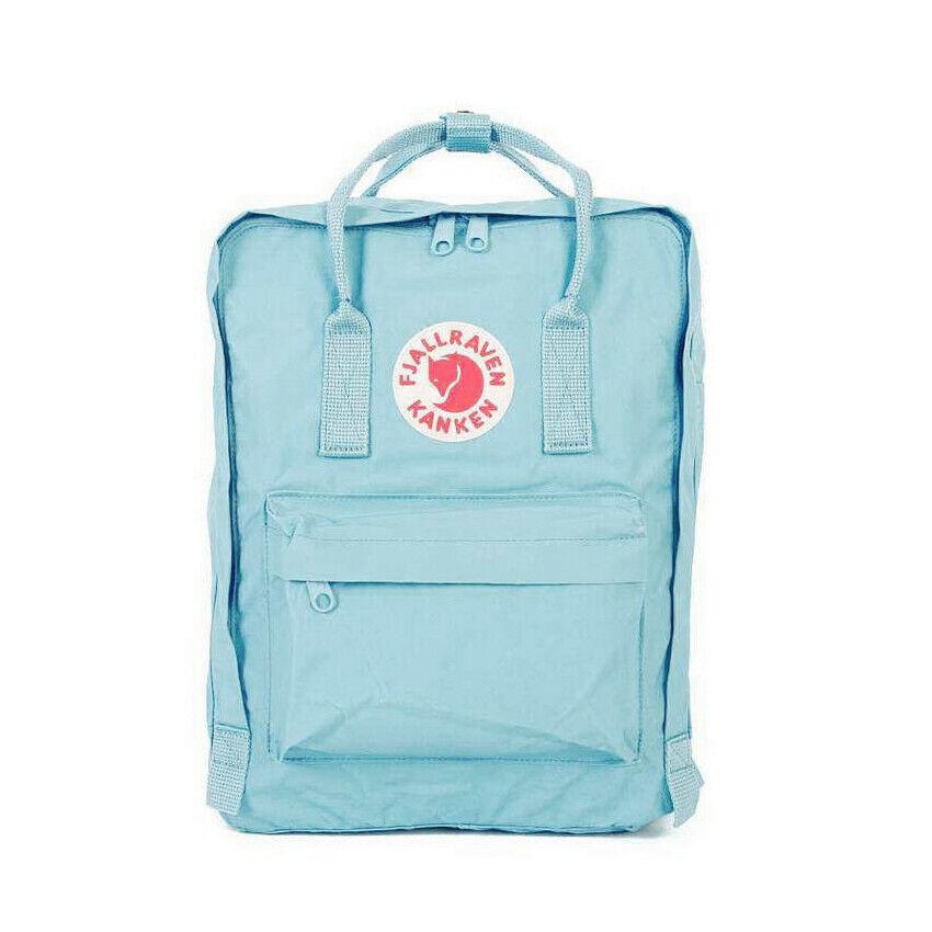 Waterproof Fjallraven Kanken0 Sport Backpack Canvas Travel Bag 7L/16L/20L 2