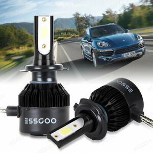 2-x-Lampe-Frontale-LED-H7-72W-9000LM-Headlight-Phare-de-voiture-Ampoule-6500K