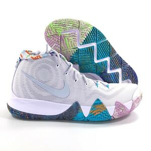 best website 2515c 5bb60 Nike Kyrie 4 Decades Pack 90's Multicolor Purple Green ...