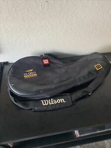 Wilson Us Open 2000 Limited Edition 2 Compartment Tennis Racquet Black Bag Ebay