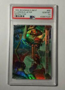 DEREK-JETER-1994-Bowmans-Best-Refractor-Rookie-Card-PSA-10-GEM-MINT-95