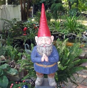 Gnome-Mordecai-Garden-Statue-32-034-High-Resin-Hand-Painted-Finish