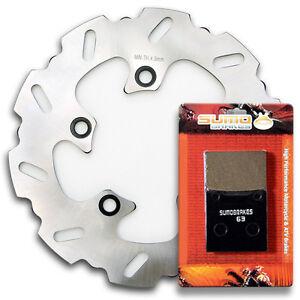Suzuki-Rear-Brake-Disc-Rotor-Pads-GSXR-600-amp-GSX-R-750-TL-1000-S-R-1997-2003
