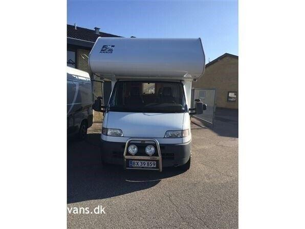 Knaus Traveller 500, 1996, kg egenvægt 2300