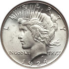 1922-1926 PEACE SILVER DOLLAR BRILLIANT UNCIRCULATED 90% COIN! AMAZING!