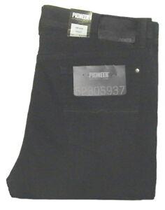 PIONEER-STRETCH-W-42-L-32-Jeans-RANDO-Schwarz-9470-02-2-Wahl-HERREN