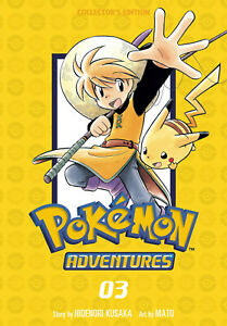 Pokemon Adventures Collector's Edition Volume 3 Softcover Graphic Novel