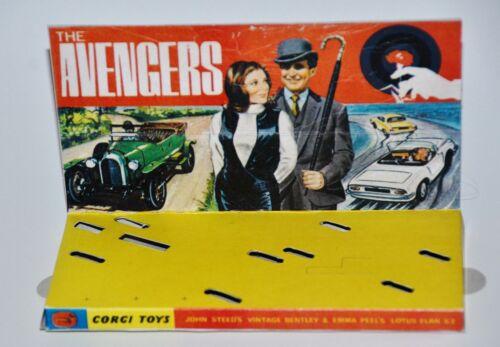 The Avengers mit Innendisplay Reprobox Corgi Toys Giftset 40